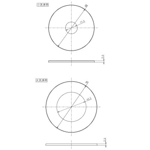 おすすめ TOTO 特価キャンペーン 排水弁パッキン部 品番:HH11027