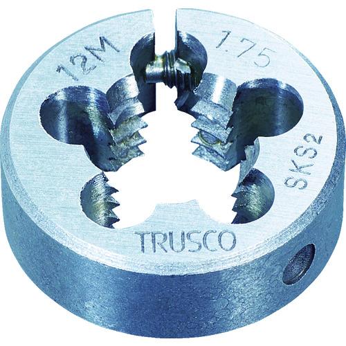 トラスコ中山(TRUSCO) 丸ダイス 63径 M30×3.5 (SKS) 【品番:T63D-30X3.5】