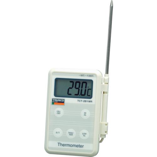 トラスコ中山(TRUSCO) 防滴型温度計 【品番:TCT-281WR】