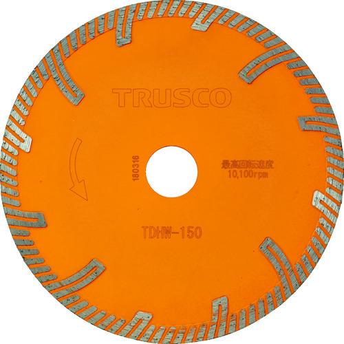 トラスコ中山(TRUSCO) ダイヤモンドカッタープロテクトウエーブ 150×2.2T×22 【品番:TDHW-150】