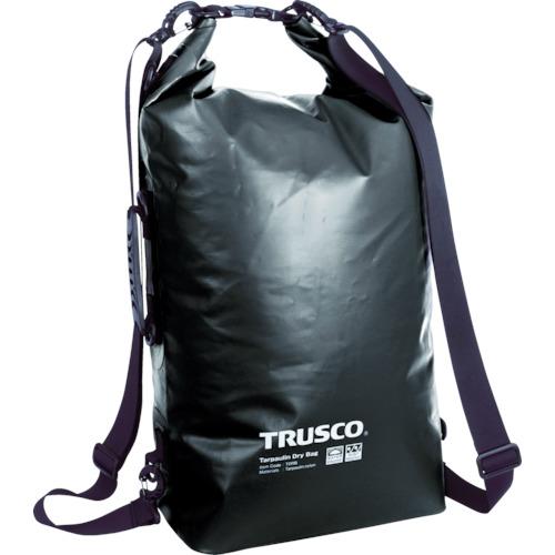トラスコ中山(TRUSCO) 防水ターポリンドライバッグ ブラック 【品番:TDRB-BK】