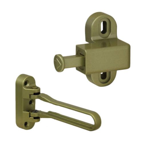 YKK AP ドアガード 数量は多 ヴェナートJD型 プロントPD型用 買い取り ゴールド 親子扉 品番:YG 両開き扉用 HH5K18449