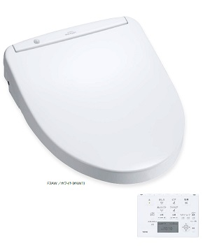 【TCF4833AF】TOTO ウォシュレット アプリコット アプリコットF3AW (オート便器洗浄タイプ) 便器洗浄ユニット付 TCA322 【TOTO】