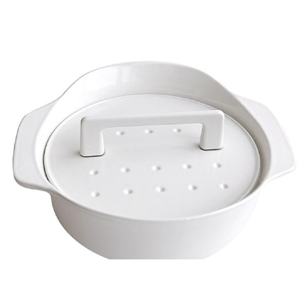 【LP0122WH】ノーリツ コンロオプション 純国産南部鉄器ホーロー鍋(ホワイト) 【noritz】