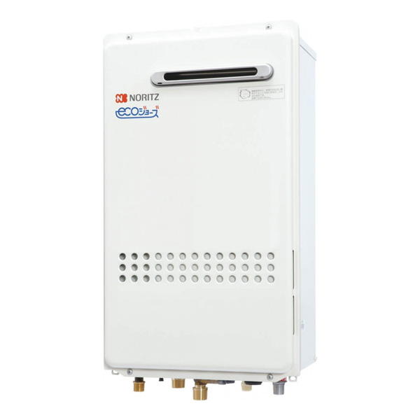 【GQ-C1634AWX-DX BL】ノーリツ 16号 エコジョーズ ガス給湯器 クイックオート 高温水供給方式 屋外壁掛形(PS標準設置形) 【noritz】