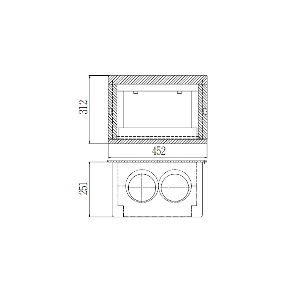 【TWEPS10CL】パロマ FF エコジョーズ 専用排気筒関連部材 断熱化粧カバー 【Paloma】