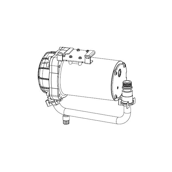 【CWA-261】リクシル シャワートイレ用付属部品 低流動圧対応ブースター 【LIXIL】