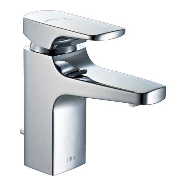【LF-YA340SY】LIXIL 水栓金具 吐水口引出式シングルレバー混合水栓 FC/ワンホールタイプ キュビア(エコハンドル) 【リクシル】