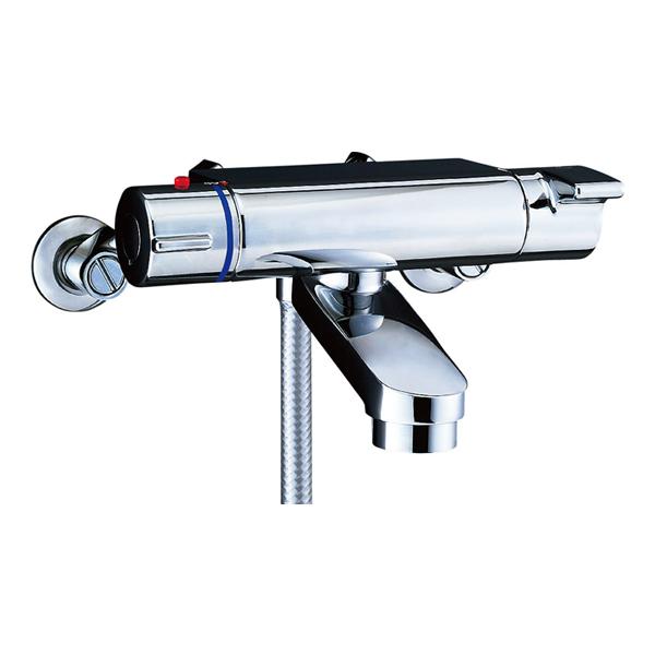 【BF-2147TKNSBW】LIXIL シャワーバス水栓 洗い場専用 サーモスタット ヴィラーゴ+シャワーヘッド 【リクシル】