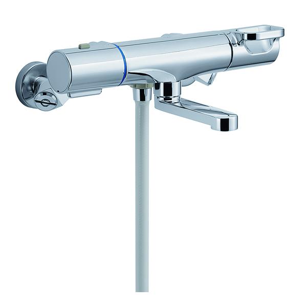 【BF-WM147TNSBW】LIXIL シャワーバス水栓 洗い場専用 サーモスタット クロマーレS+シャワーヘッド 【リクシル】
