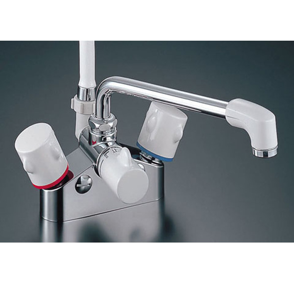 【BF-M616HN】LIXIL シャワーバス水栓 デッキタイプ 2ハンドル(一時止水) 【リクシル】