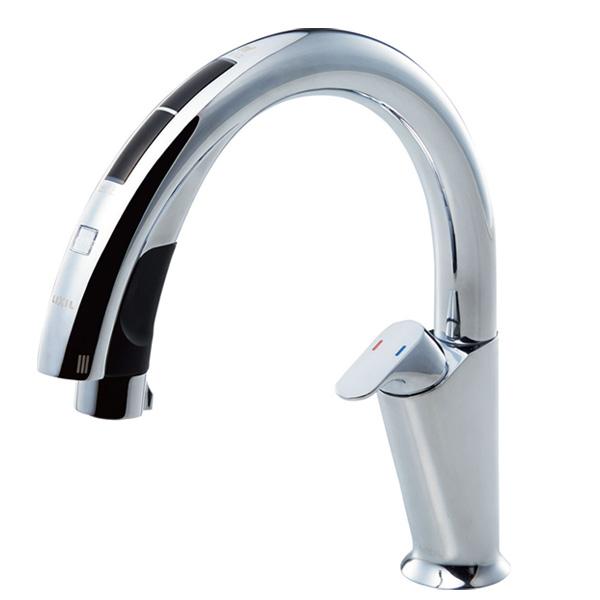 【JF-NA411S(JW)】LIXIL キッチン用タッチレス水栓 ナビッシュ A10タイプ 【リクシル】