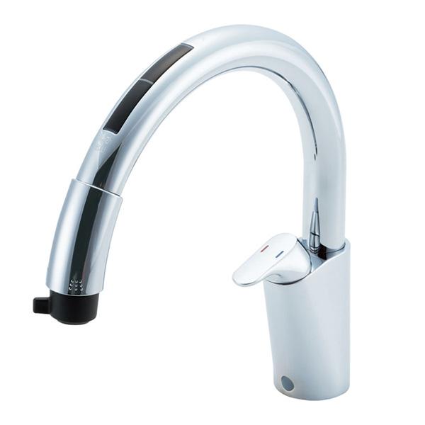 【JF-NB466SXU(JW)】LIXIL キッチン用タッチレス水栓 ナビッシュ(浄水器ビルトイン型) B6タイプ 【リクシル】