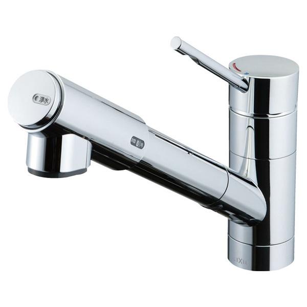 【JF-1456SYX(JW)】LIXIL オールインワン浄水栓 eモダンタイプ(エコハンドル) 【リクシル】