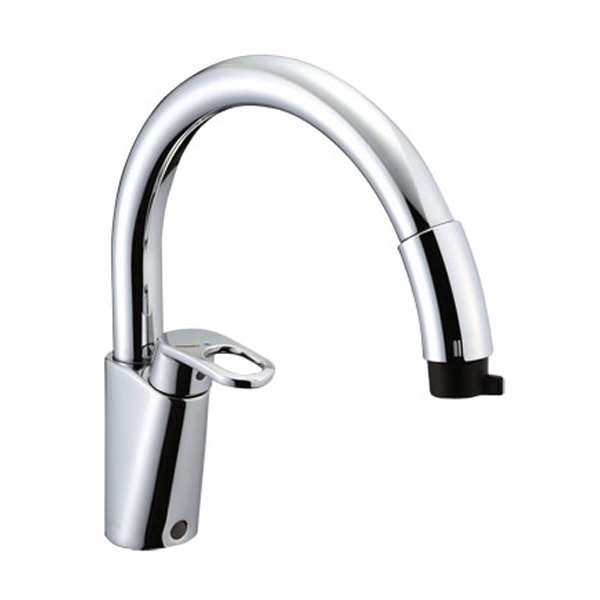 【SF-HM451SYXU】LIXIL キッチン用水栓金具 吐水口引出式(ハンドシャワー付) グースネック(エコハンドル) 【リクシル】