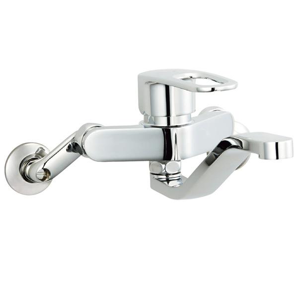 【SF-WM436SY】LIXIL キッチン用水栓金具 壁付タイプ クロマーレS(エコハンドル) 【リクシル】