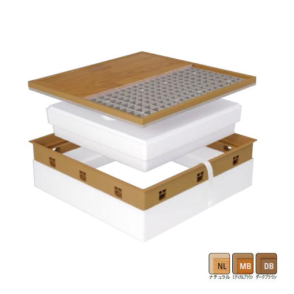 【SPF-R60F12-BL3】城東 内装建材 高気密型床下点検口 寒冷地高断熱型 600×600タイプ 【Joto】/代引き不可品