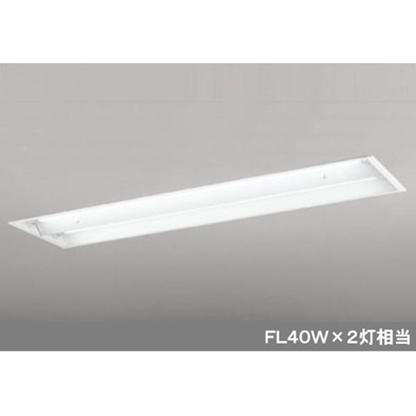 【XD266102B7】オーデリック ベースライト LEDランプ型 埋込型 下面開放型(幅広) 【odelic】