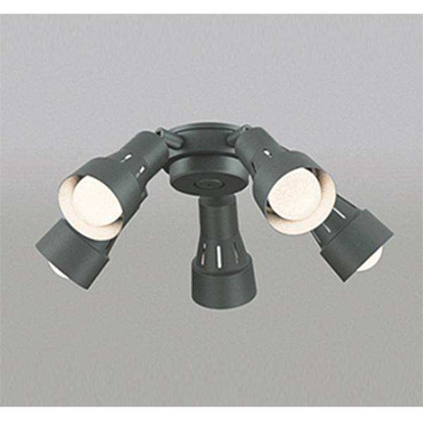 【WF280PC】オーデリック シーリングファン LED電球一般形 灯具 可動型スポットタイプ・5灯 【odelic】