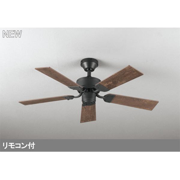 WF833 オーデリック シーリングファン 器具本体 odelic パイプ吊り 無料サンプルOK 迅速な対応で商品をお届け致します 5枚羽根