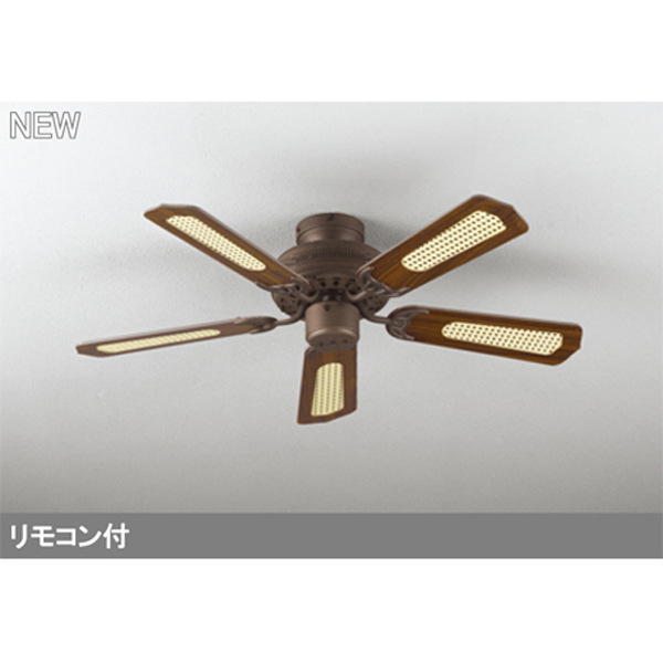 【WF773P2】オーデリック シーリングファン 器具本体 直付・5枚羽根 【odelic】