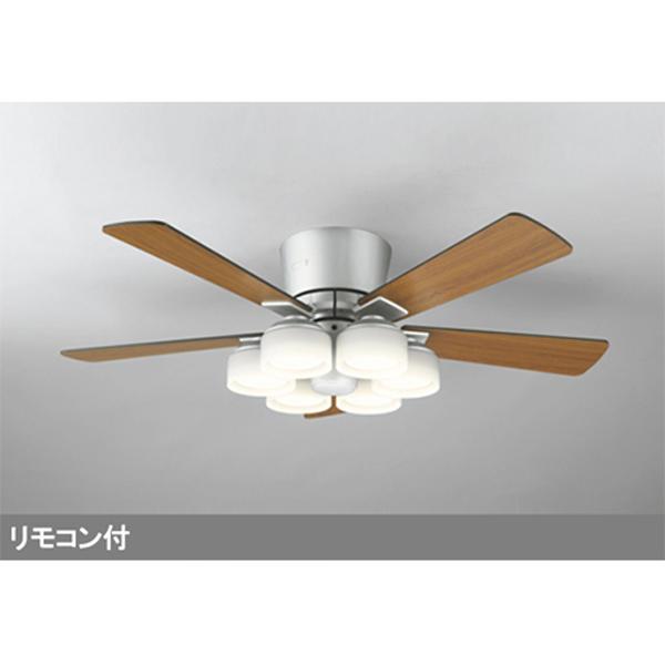 【WF209LC】オーデリック シーリングファン LED電球フラット形 器具本体 灯具一体型 【odelic】
