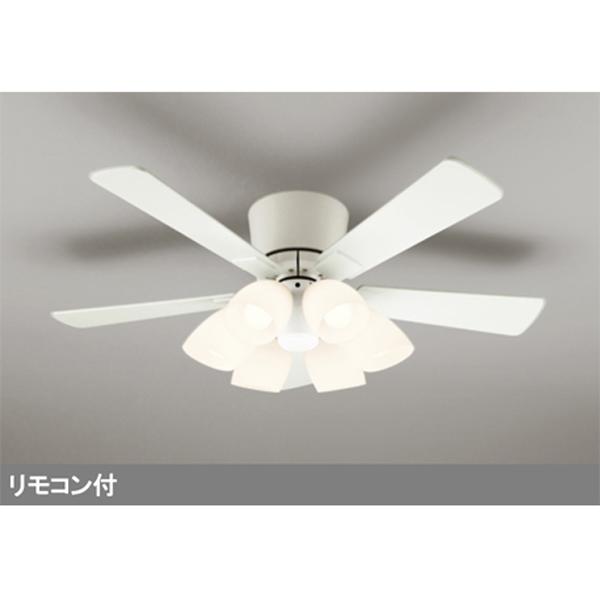 【WF418LC1】オーデリック シーリングファン LED電球一般形 器具本体 灯具一体型 【odelic】