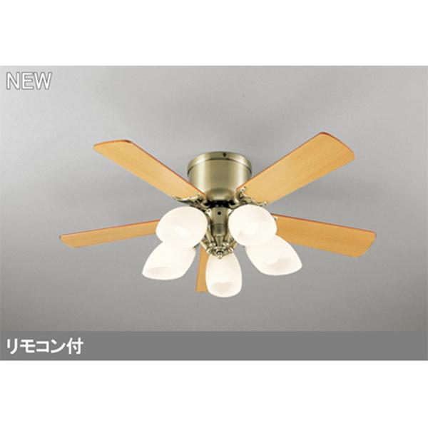 【WF446LC2】オーデリック シーリングファン LED電球一般形 器具本体 灯具一体型 【odelic】