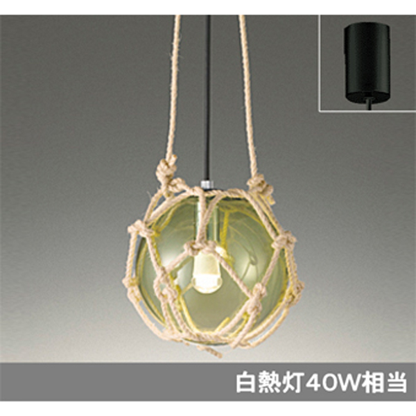 【OP252418LD】オーデリック ペンダントライト LED電球クリアミニクリプトン形 【odelic】