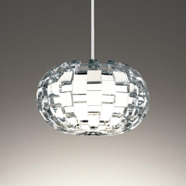 【OP252582LDR】オーデリック ペンダントライト LED電球フラット形 プラグ 高演色LED 白熱灯60W相当