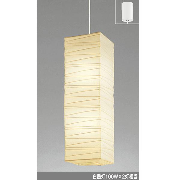 【OP052091LDW】オーデリック 和ペンダントライト LED電球一般形 【odelic】