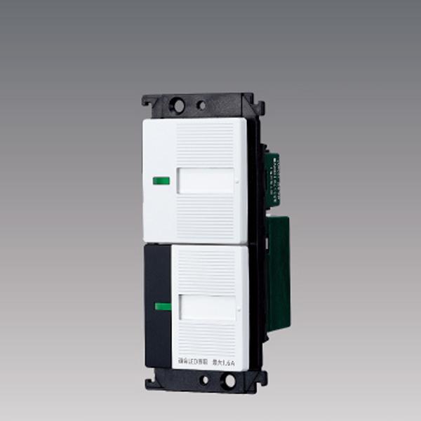 WTC55716W パナソニック コントローラ 照明リモコン受信スイッチ 2線式 LED調光タイプ 絶縁枠 新品 信頼