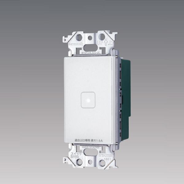 WTY5411WK パナソニック コントローラ 正規販売店 アドバンスシリーズ リンクモデル 人気上昇中 1回路 タッチ LED調光スイッチ 4線式 配線器具