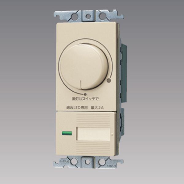 WTC57582F パナソニック コントローラ 国内在庫 コスモシリーズ ワイド21 新品 送料無料 配線器具 片切 ロータリー式 LED 埋込逆位相調光スイッチC 3路両用