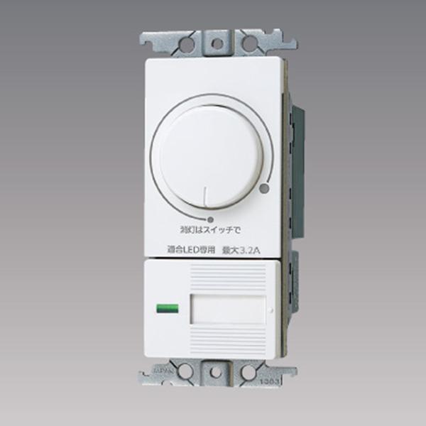 WTC57583W パナソニック コントローラ コスモシリーズ トラスト ワイド21 お気にいる 配線器具 片切 適合LED専用3.2A ロータリー式 LED 埋込逆位相調光スイッチC 3路両用