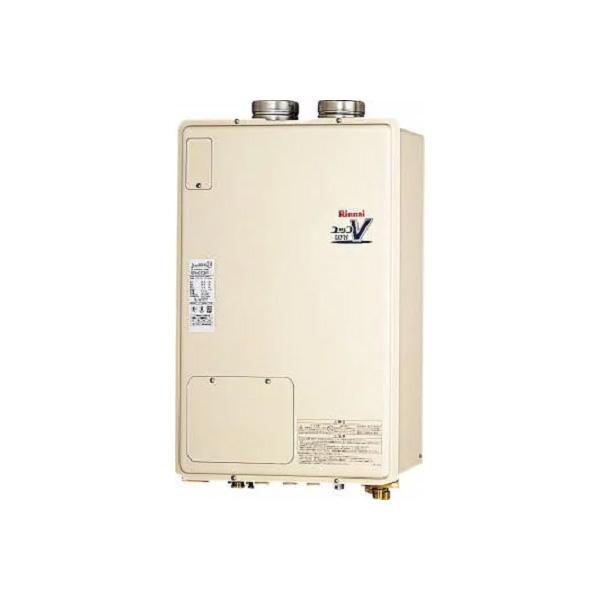 【RUFH-V1613AFF(B)】リンナイ ガス給湯暖房用熱源機 16号 フルオート F F 方式・屋内壁掛型 【RINNAI】