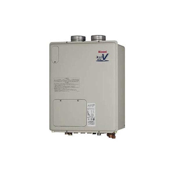 【RUFH-VD2401AFF2-3A】リンナイ ガス給湯暖房用熱源機 24号 フルオート F F 方式・屋内壁掛型 【RINNAI】