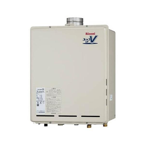 【RUF-A2405AU(B)】リンナイ ガスふろ給湯器 設置フリータイプ 24号 フルオート PS扉内上方排気型 【RINNAI】