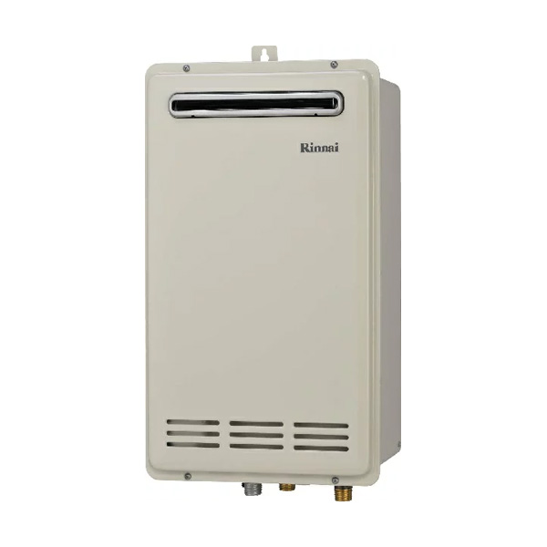 【RUF-VK1600SAW(B)】リンナイ ガスふろ給湯器 設置フリータイプ 16号 オート 屋外壁掛・PS設置型 【RINNAI】