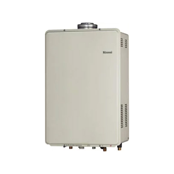 【RUF-V1615SAFFD(C)】リンナイ ガスふろ給湯器 設置フリータイプ 16号 オート F F 方式・屋内壁掛型 【RINNAI】