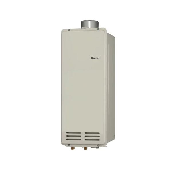 【RUX-VS1606U(A)-E】リンナイ ガス給湯専用機 音声ナビ 16号 PS扉内上方排気型 【RINNAI】