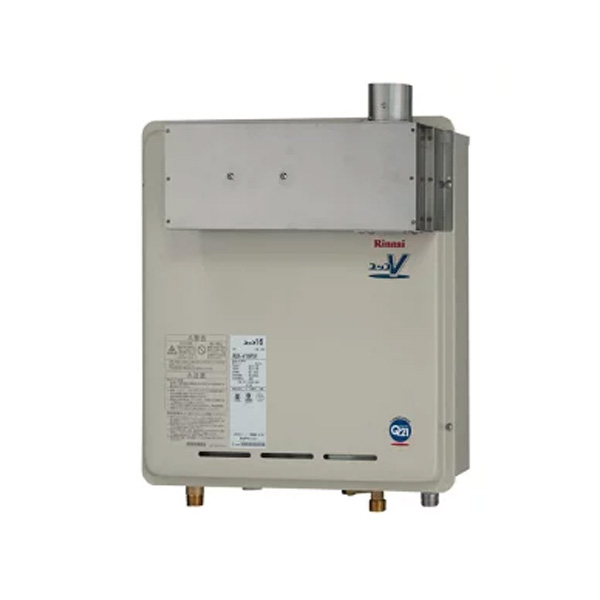 【RUX-V16PSF】リンナイ ガス給湯専用機 音声ナビ 16号 PS扉内設置型/PS延長前排気型 【RINNAI】