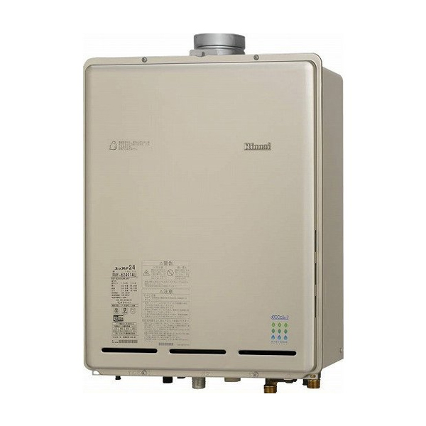 【RUF-EP2401SAU(A)】リンナイ ガスふろ給湯器 設置フリータイプ オート PS扉内上方排気型 24号 【RINNAI】
