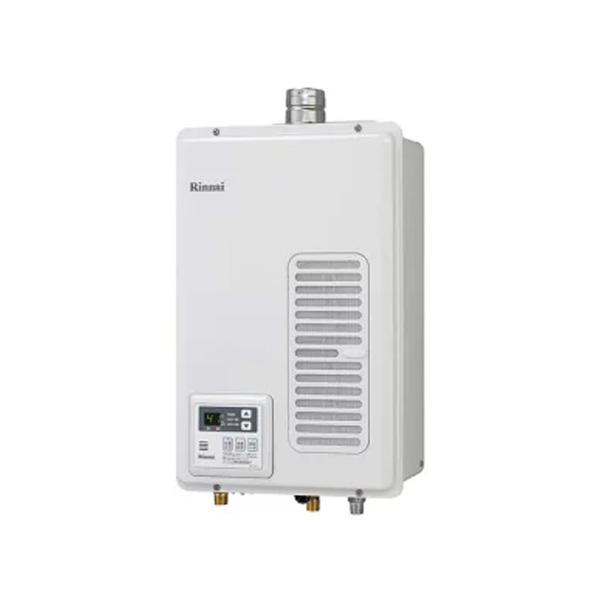 【RUX-V1615SWFA(A)-E】リンナイ ガス給湯専用機 音声ナビ FF方式・屋内壁掛型 16号 【RINNAI】