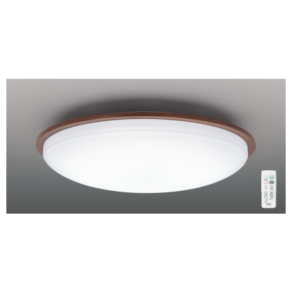 【LEDH80351-LC】東芝 シーリングライト 調光・調色 ベーシック ~6畳 【toshiba】