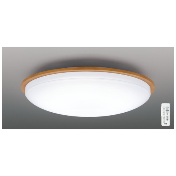 【LEDH80355-LC】東芝 シーリングライト 調光・調色 ベーシック ~6畳 【toshiba】