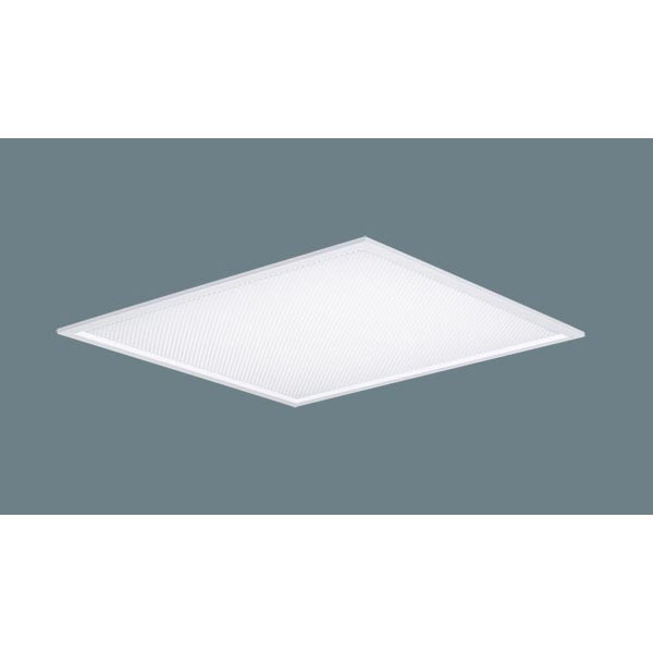 【NNF57511 LT9】パナソニック スクエアシリーズ/埋込型/乳白パネル・プリズムパネル 深枠(銀)640タイプFL20形×5灯 相当タイプ 白色4000K 【panasonic】