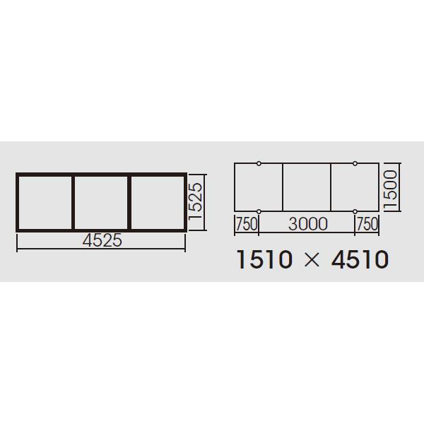 【FYY80073】パナソニック スマートアーキ 3台用取付枠 XFY6600用・XFY4020用 受注生産品 【panasonic】