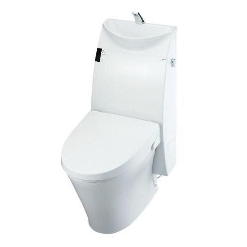 【YBC-A10P+DT-385JW】リクシル アステオ(床上排水) A5グレード 手洗付 便座一体型 手洗い有 壁120mm 寒冷地 流動方式 【LIXIL】