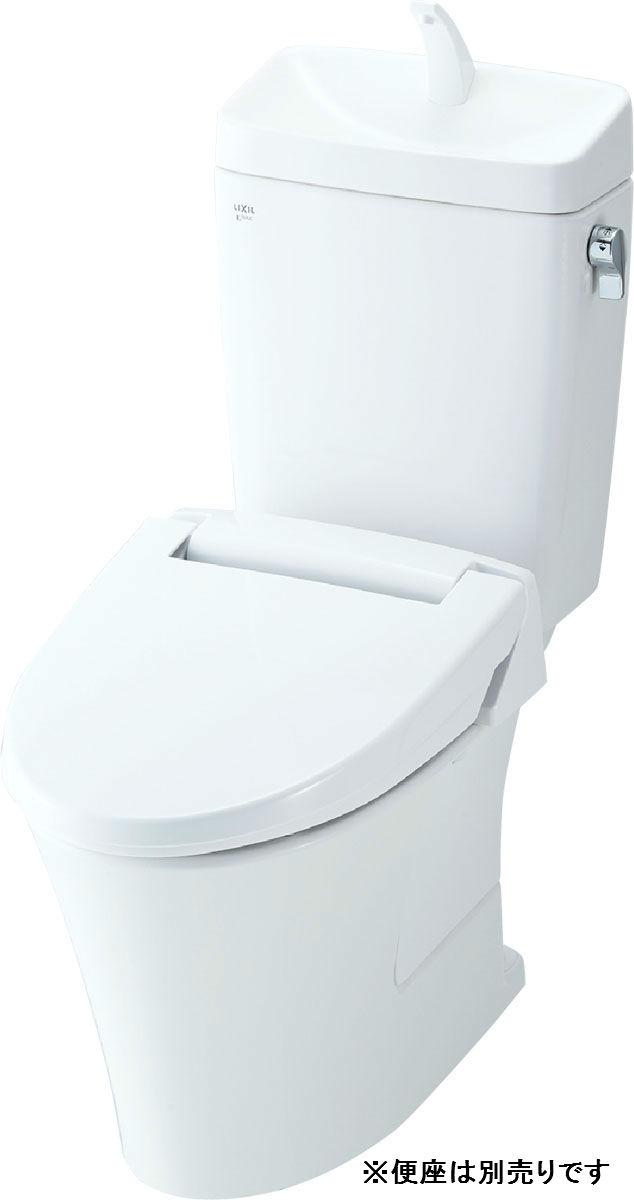 【YBC-ZA10P+DT-ZA150EP】リクシル アメージュZ便器 フチレス 手洗い無 床上排水 アクアセラミック 【LIXIL】